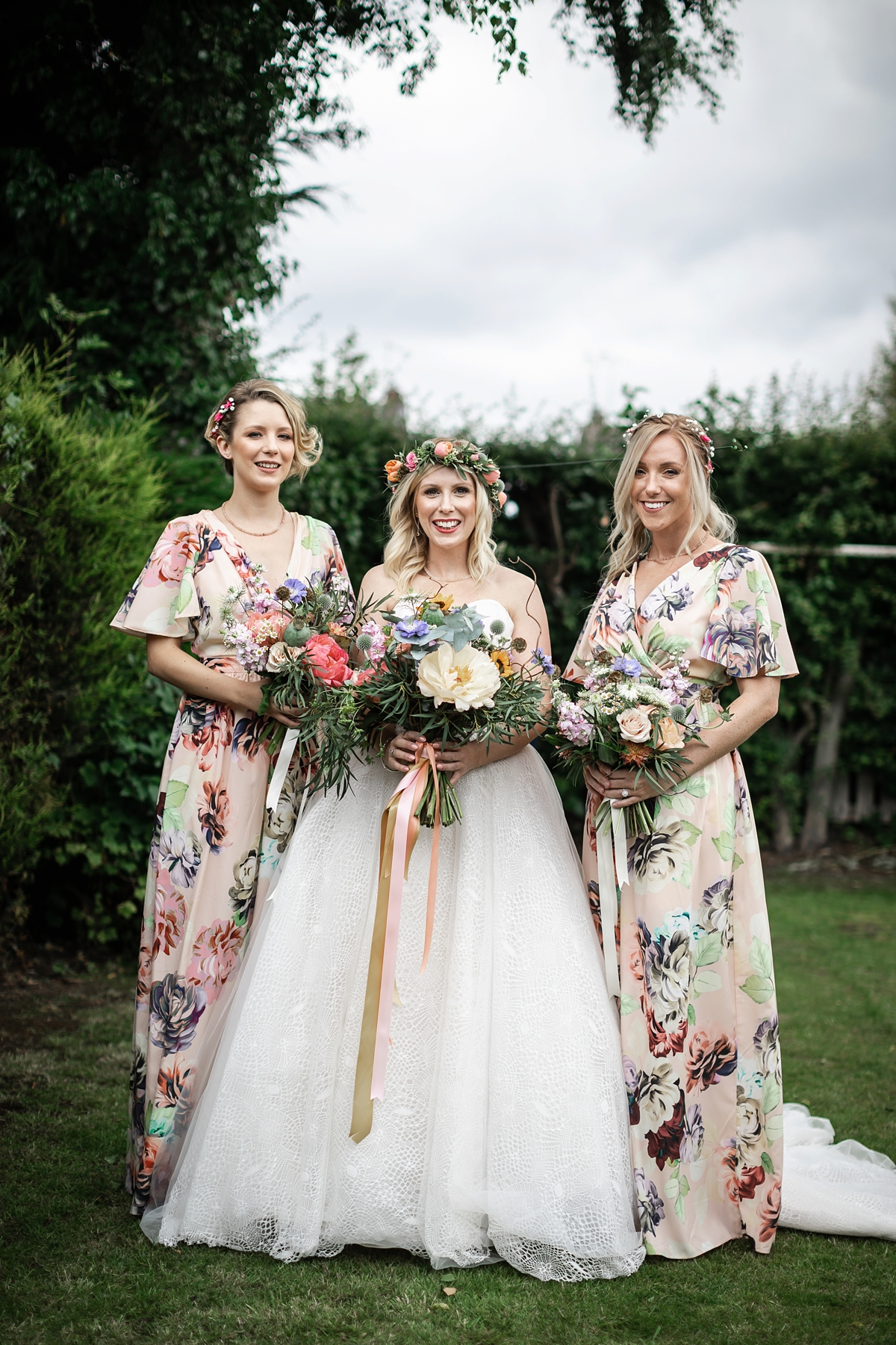 0ad52516282 Charlotte Balbier dress nature inspired barn wedding Yorkshire - A  Charlotte Balbier Dress + Flower Crown