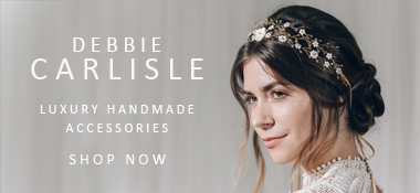Debbie Carlisle sponsor ad  - A Sassi Holford Gown for an Elegant and Edgy Black Tie Wedding