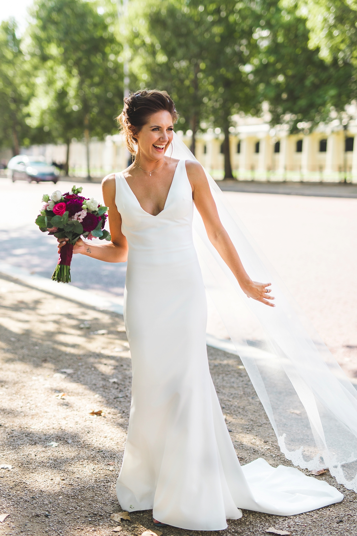 9d988a0150c1 ... Made With Love dress ICA wedding London - A Backless Made With Love  Dress for a ...