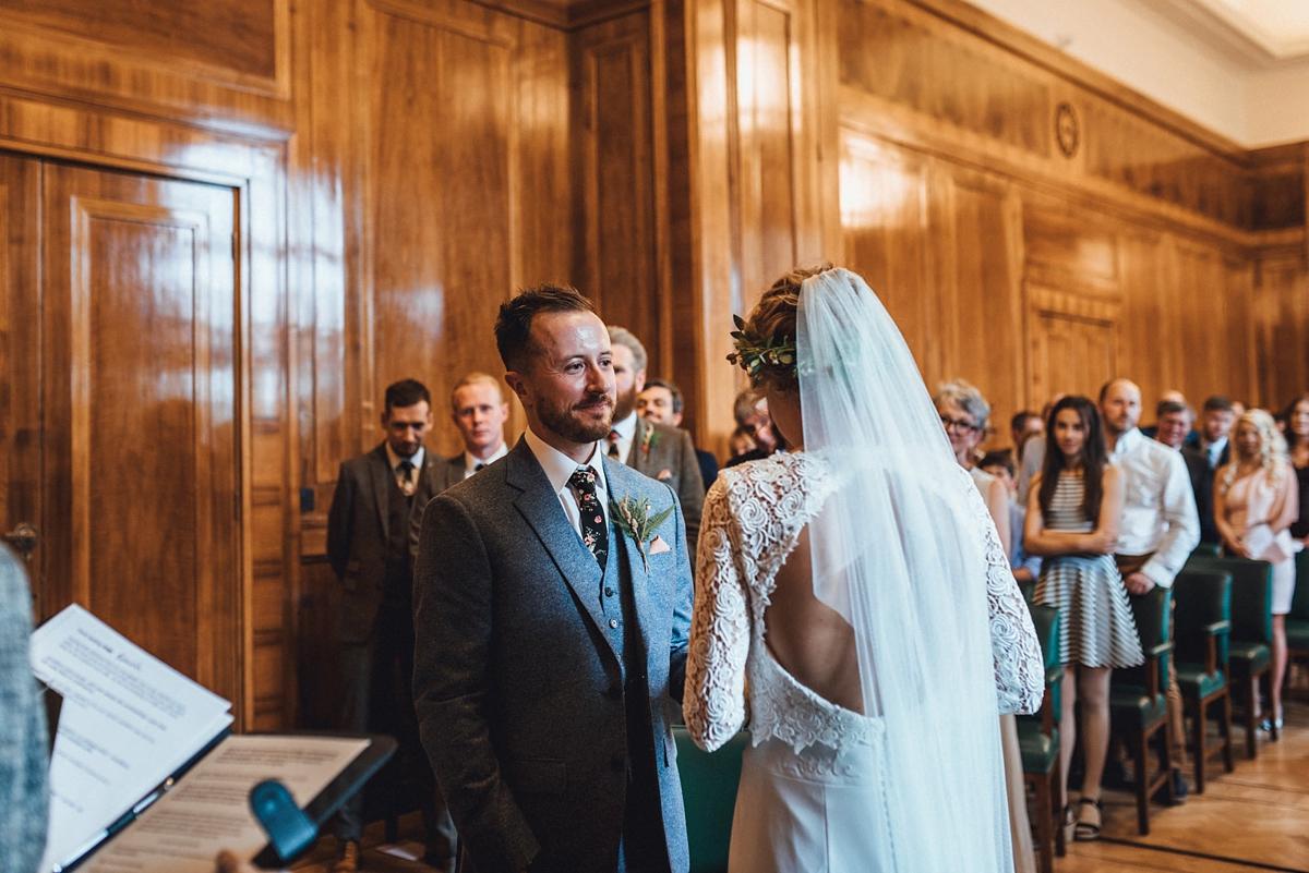 9f0452fbdec Story Of My Dress bride backless bridal gown - A Backless  Story of My Dress