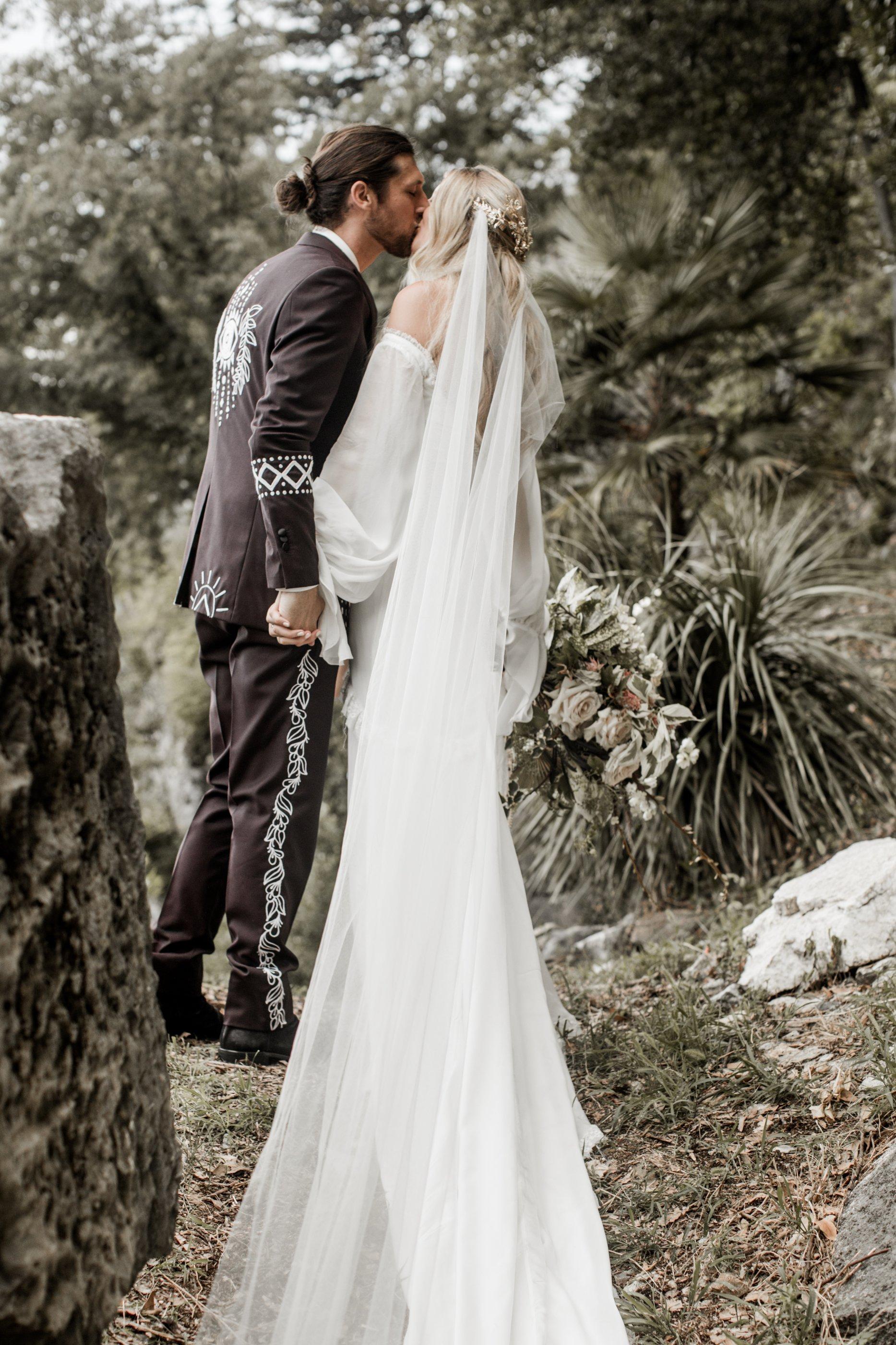 3ffd35a54f Free spirited bohemian Lake Como wedding Daughers of Simone dress - A  Bohemian