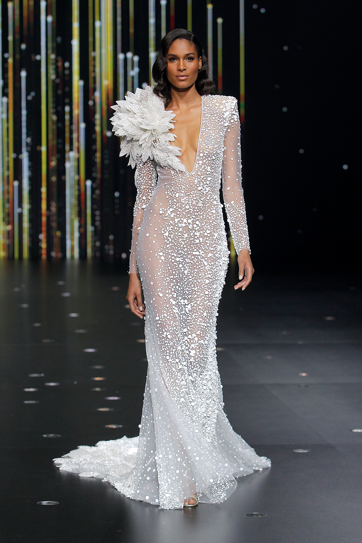 wedding pronovias dress bridal runway week barcelona collection dresses stars bride spring beyond brides atelier dressed