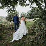 Morning by Caroline Castigliano for a Wiltshire Farm Wedding with a First Look