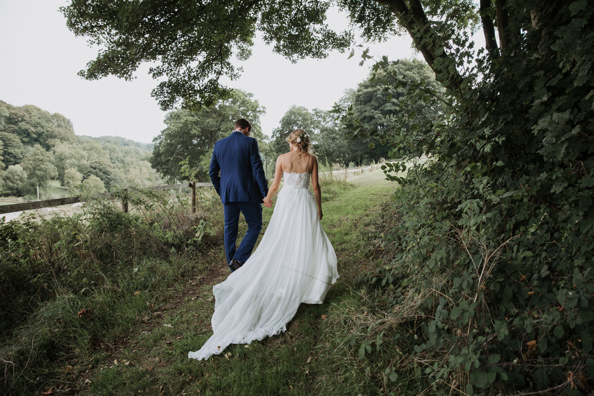 a34be013d6d Morning by Caroline Castigliano for a Wiltshire Farm Wedding with a First  Look