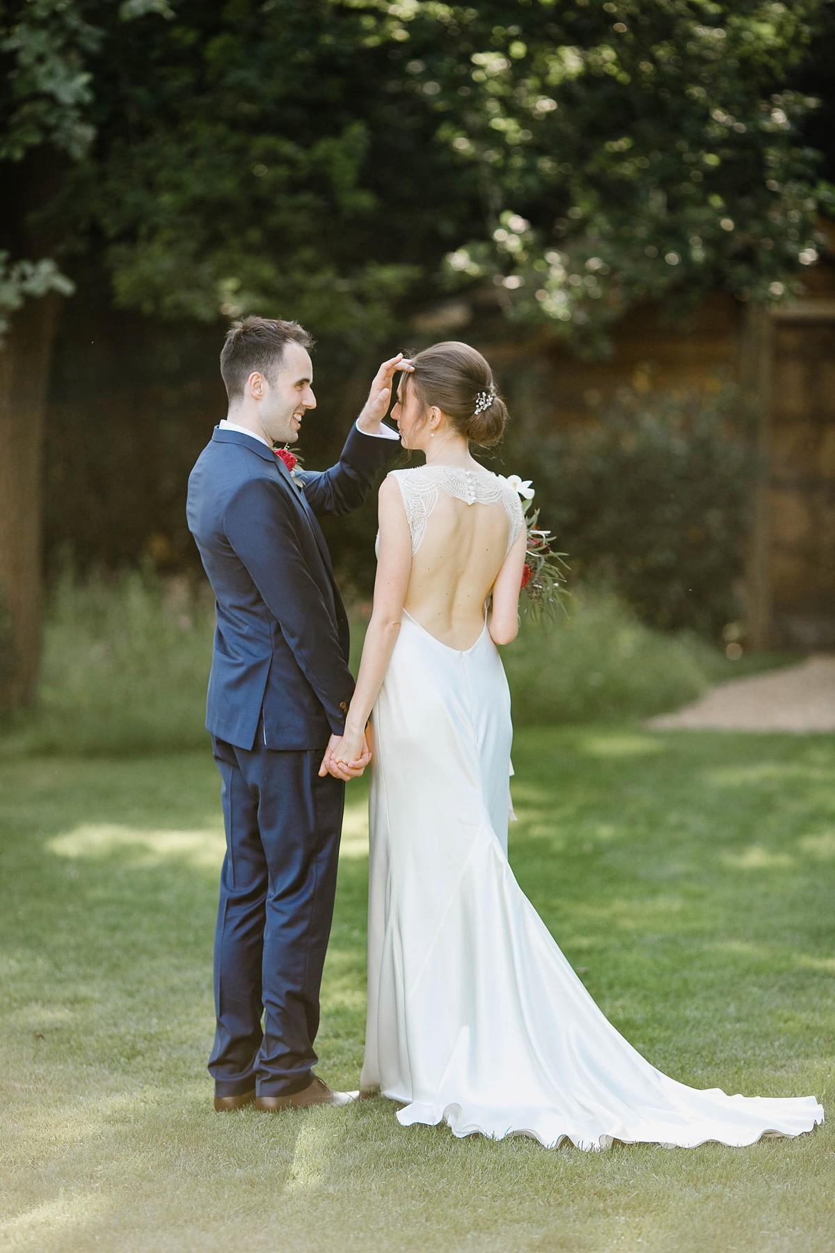 90ca250a7783 ... Suzanne Neville backless dress Millbridge Court wedding - A Backless  Gown by Suzanne Neville for a ...