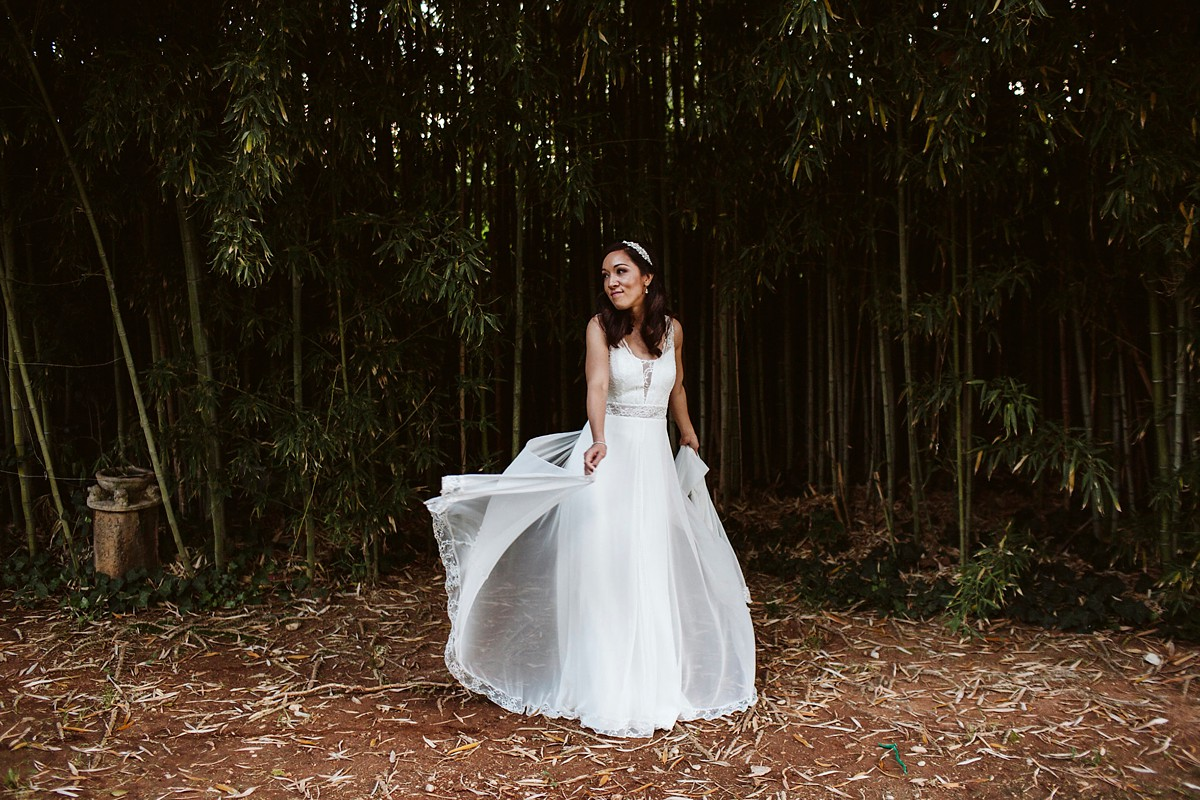 A Romantic Rembo Styling Dress For A Multicultural