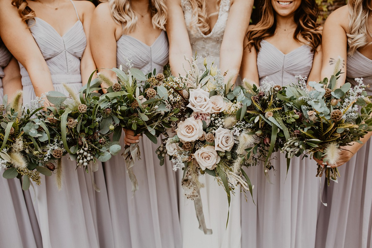 A Fun + Rustic September Woodland Wedding With An Elegant