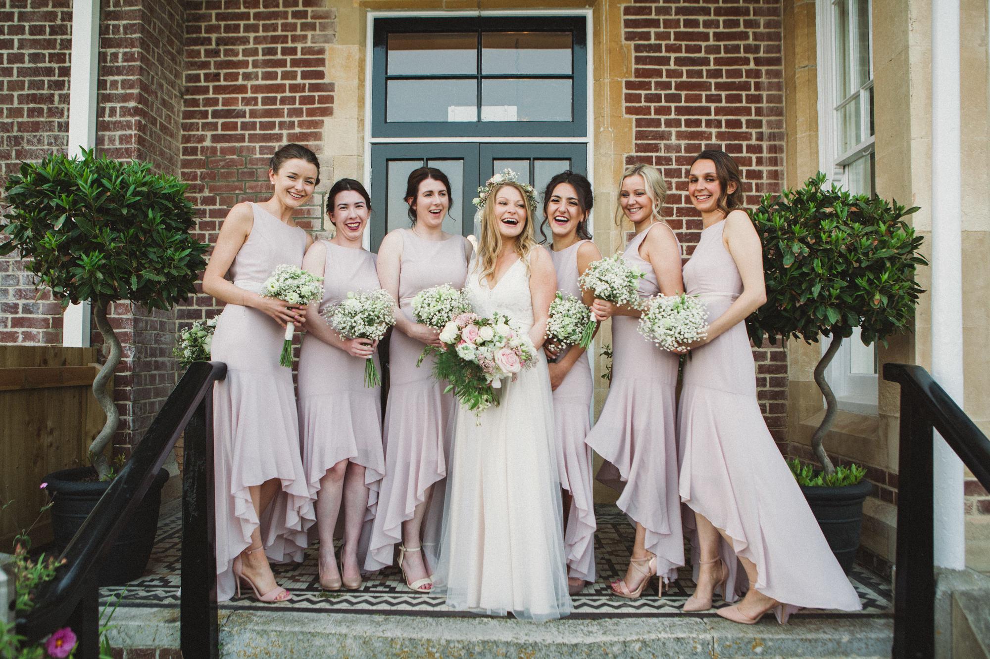 401eca1a21dba A Bride in Blush Pink Catherine Deane for a Coastal Meets Country Wedding  in Salcombe, Devon   Love My Dress® UK Wedding Blog + Wedding Directory
