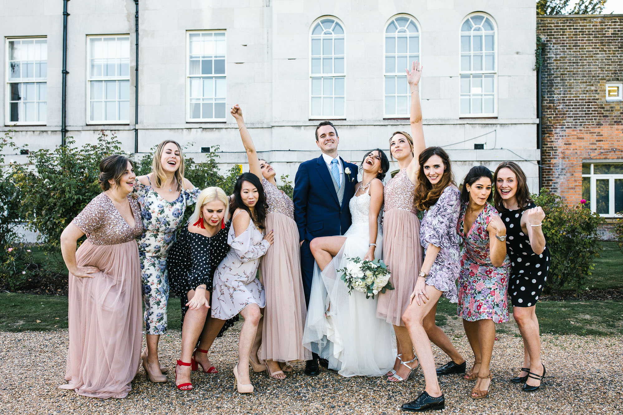 A Surrey Palace Wedding + Galina Signature Dress
