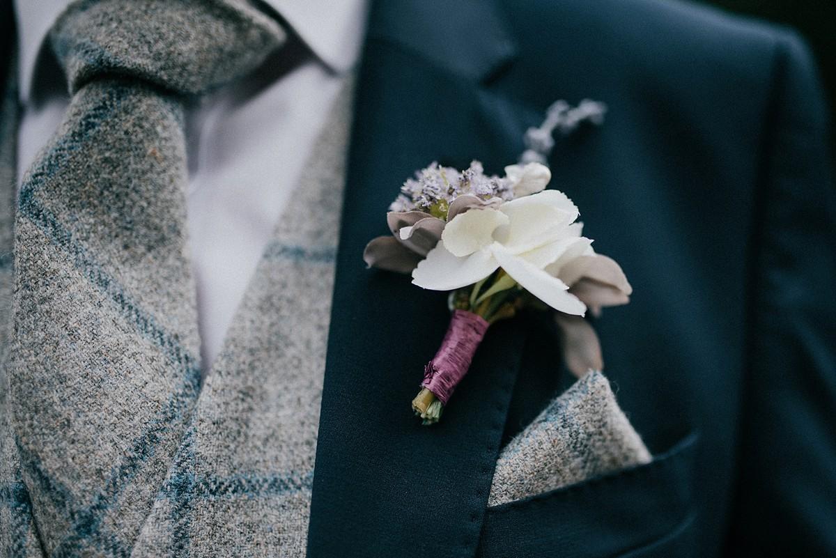 True bride dress Yorkshire farm wedding  - A Lovely, Relaxed Family Tipi Wedding on a Yorkshire Farm