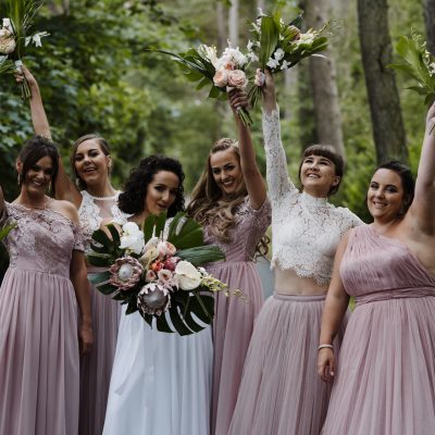 A Riki Dalal Bride + her Black Tie, Bohemian, Macrame + Tropical Inspired Wedding
