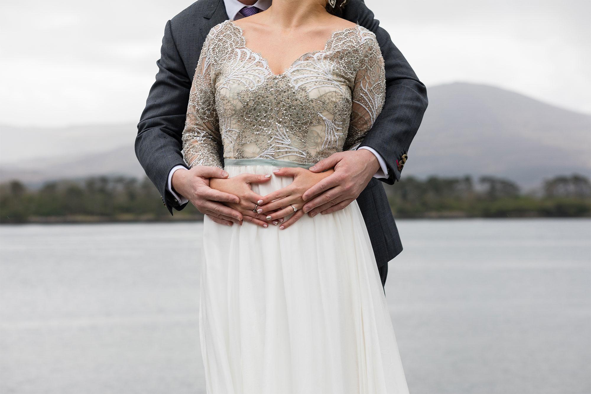 51900c8f2f An French Lace Dress + First Look for an Elegant Irish + Swedish Fusion  Wedding | Love My Dress® UK Wedding Blog + Wedding Directory