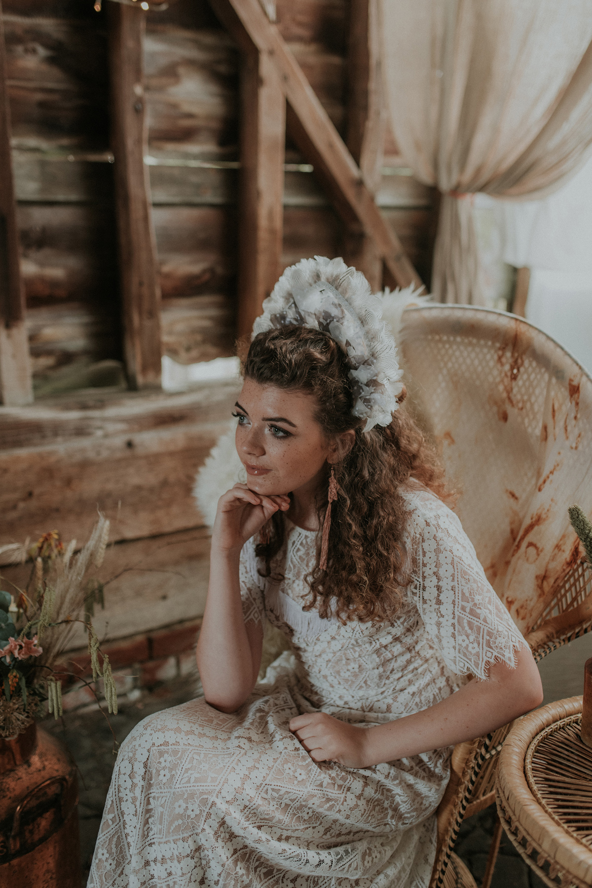 Cowgirl Bride - The Cowgirl Bride: Free Spirited, Bohemian, Wedding Day Styling