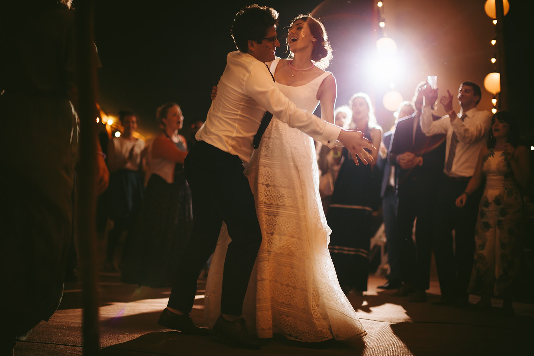 Truvelle bride Bude Hall wedding Durham - A Truvelle Dress + Handmade Veil for an Anglo-American, Festival Inspired Wedding in Northumberland