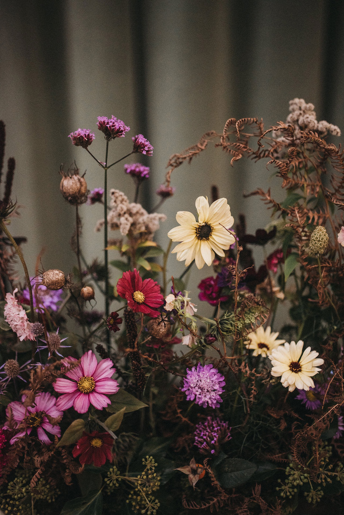 Seasonal Natural And Authentic Autumn Wedding Flowers And Styling Inspiration