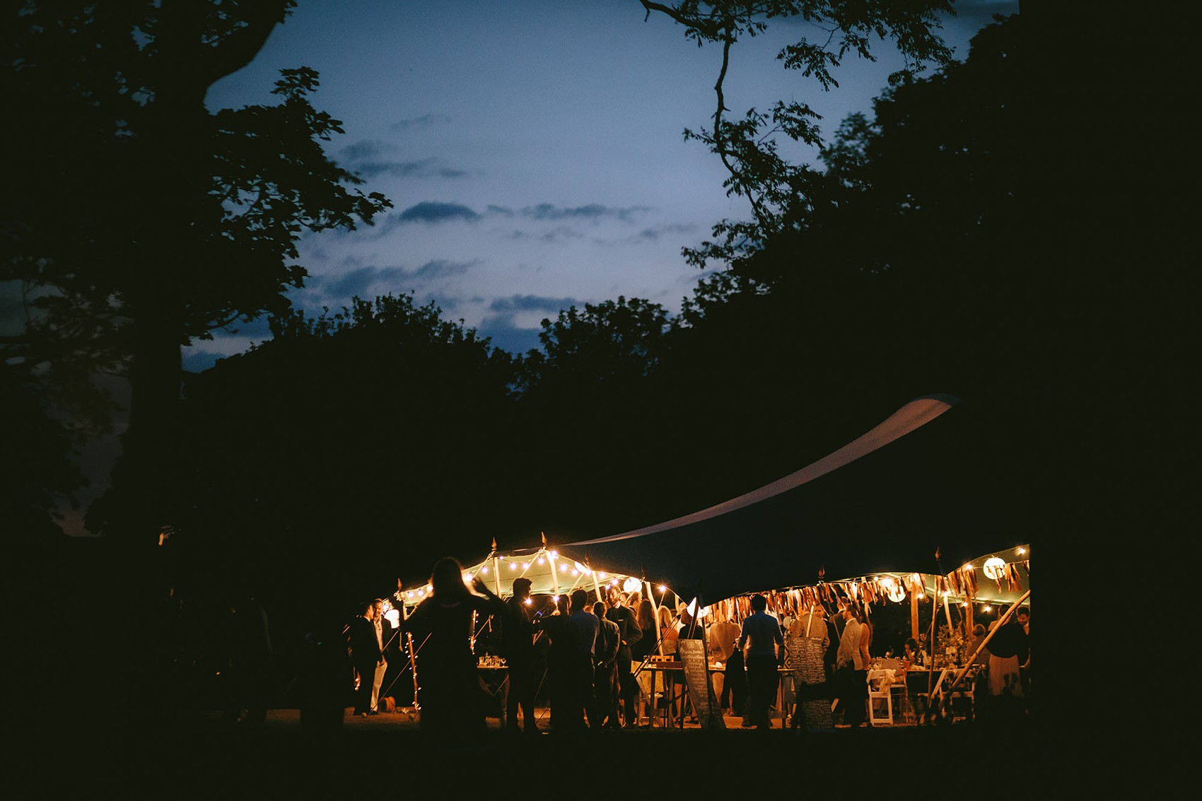 ChristinaOli Wedding  - A Truvelle Dress + Handmade Veil for an Anglo-American, Festival Inspired Wedding in Northumberland