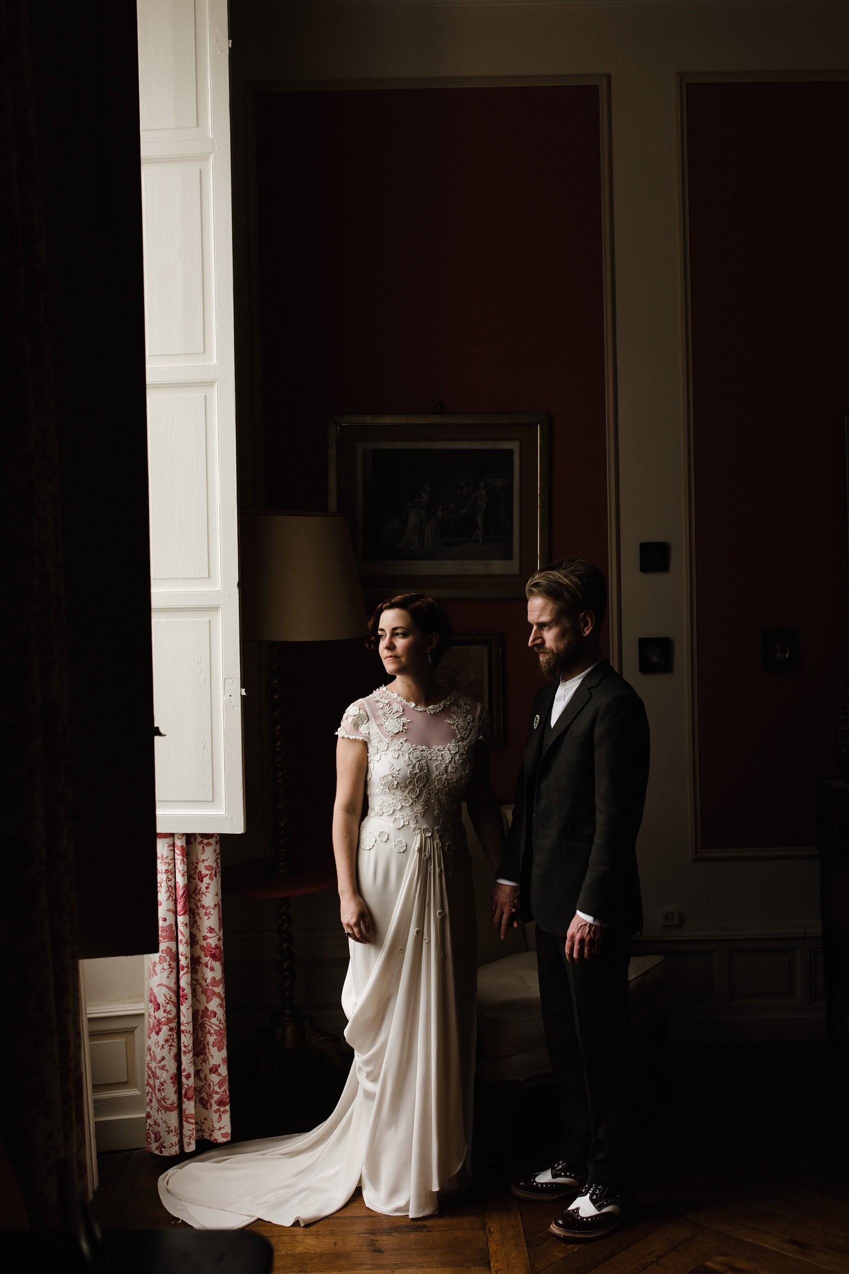 A Temperley London Dress Velvet Tweed Jewel Tones For A Joyful