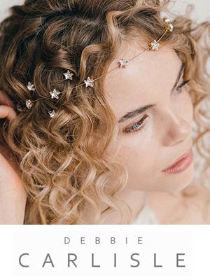 Debbie Carlisle accessories and headpieces