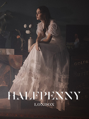 Halfpenny London Bridalwear Designer