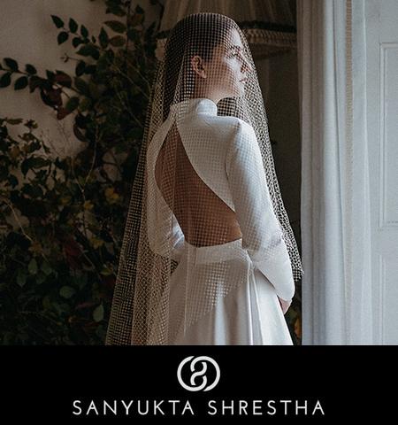 Sanyukta Shrestha ethical wedding dresses