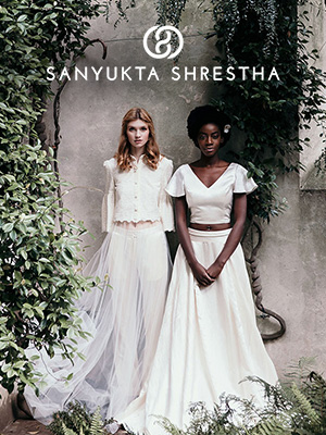 Sanyukta Shrestha Bridal Dress Designers