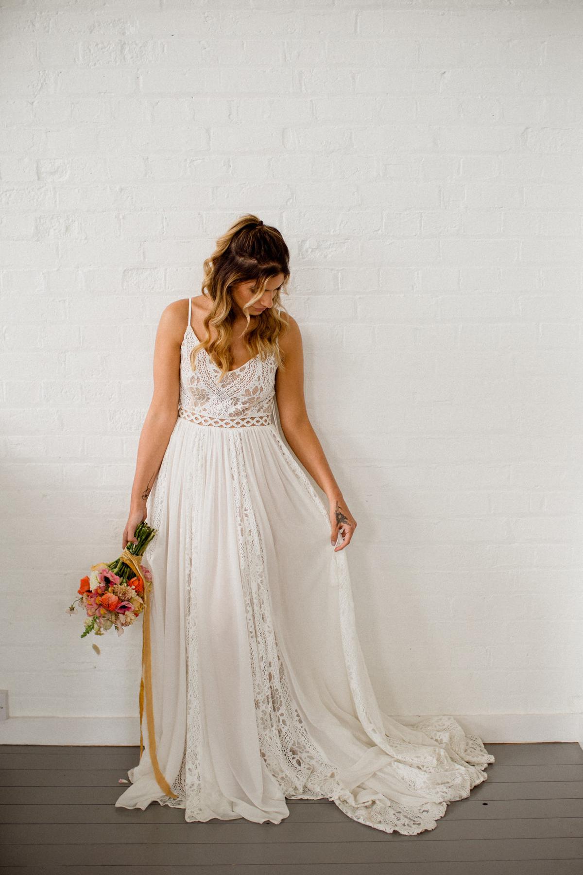 Hazy summer wedding bridal vibes - Hazy Summer Days Bridal Editorial with Anna Campbell + Rish Bridal