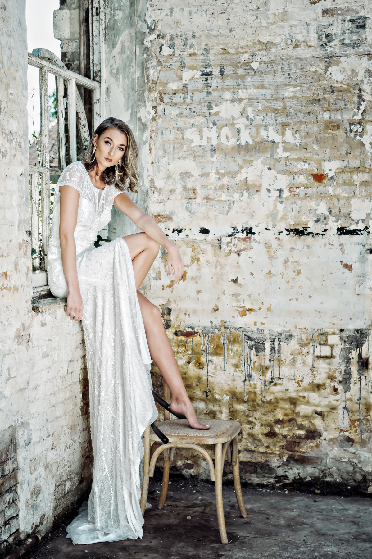 Aire Barcelona Fross Wedding Collections  - Fross Wedding Collections Bridal Boutique, Uckfield, Sussex: Modern, Glamorous, Statement Wedding Dresses