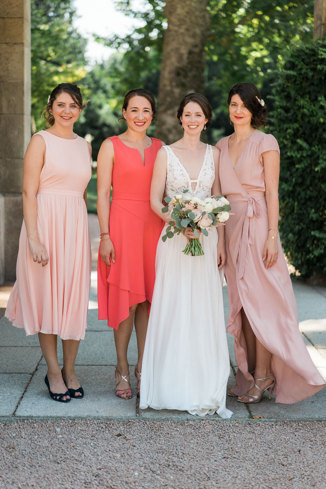 Margaux Tardits dress elegant Italian summer wedding  - A Romantic Margaux Tardits Dress + First Look for an Elegant Summer Destination Wedding in Italy