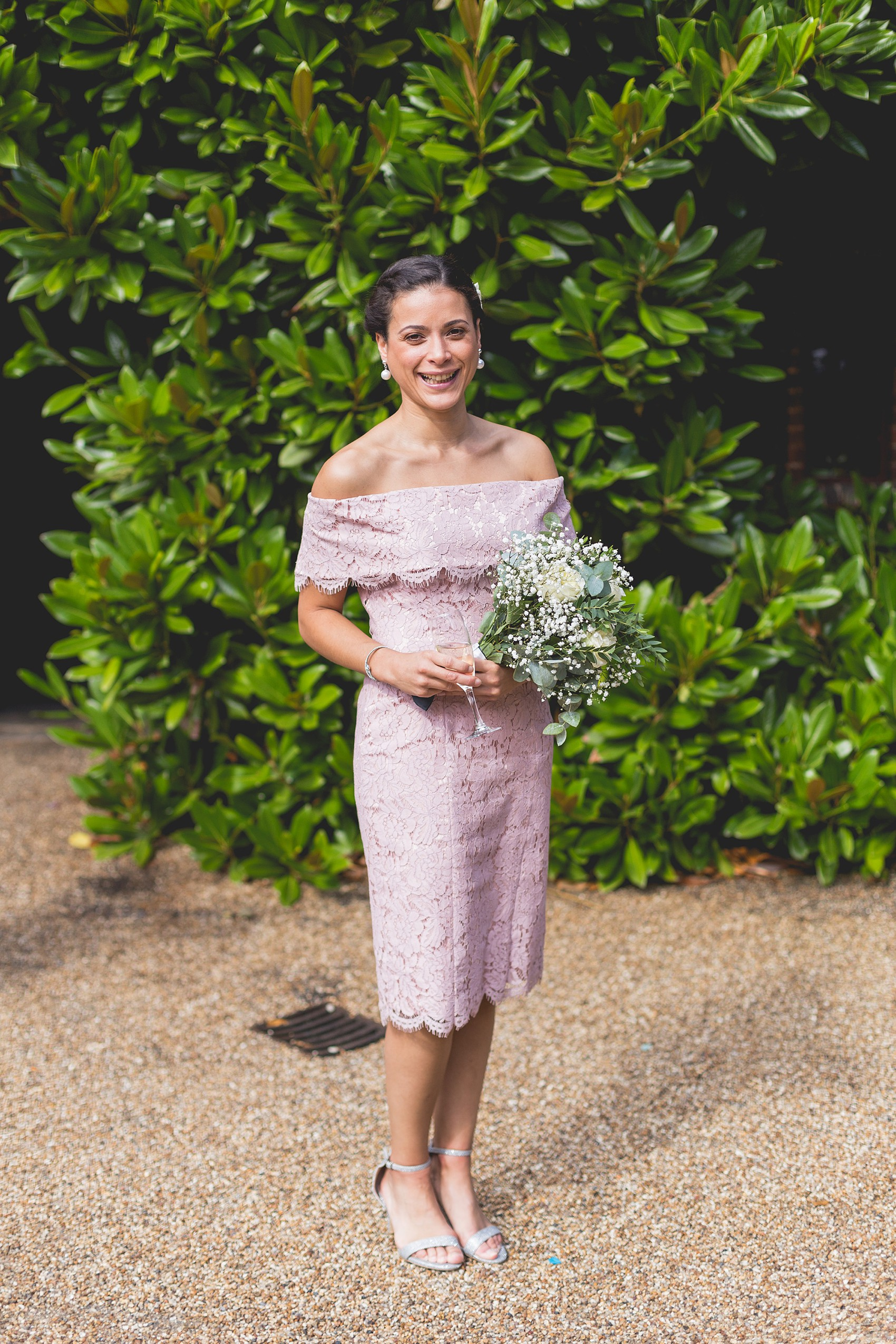 Temperley London bride - A Bride in Temperley London For A Classic Country House Summer Wedding