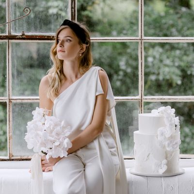 Notes on a Modern, Contemporary & Romantic White Wedding