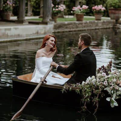A Lara Croft Inspired Bride – Adventurous, Understated Luxury at Euridge Manor Cotswolds Wedding Venue