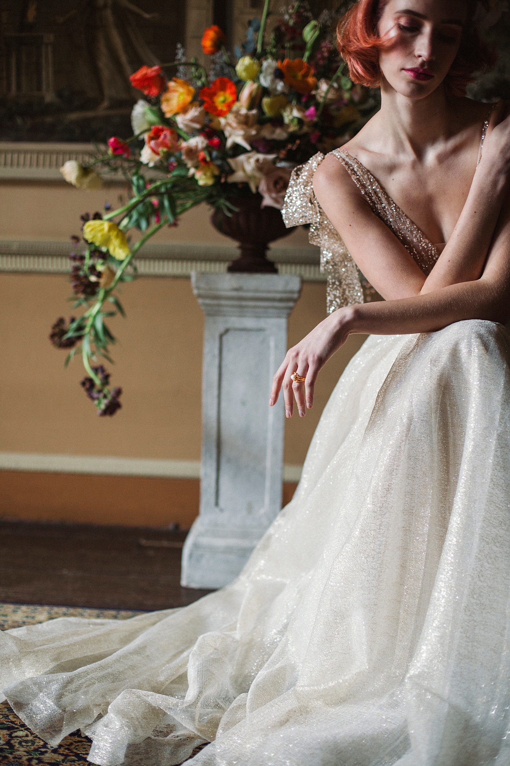 Spring Bridal Glamour At Home House A Private Members Club Intimate London Wedding Venue