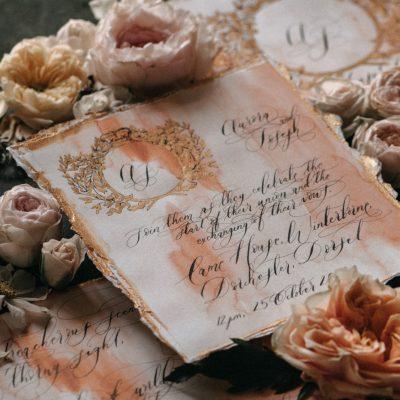 Elegant & Ephereal Wedding Inspiration at Came House in Dorset