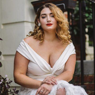 Halfpenny London – Confident, Curvy Bride