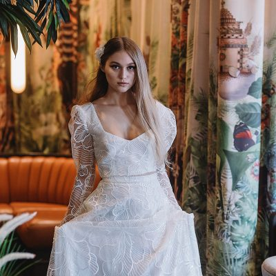 In The Mood For Love: Modern Hollywood Bridal Style at the Trafalgar St James, London