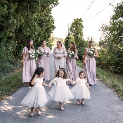 A Charming French Countryside Wedding for a Bride in Grace Loves Lace